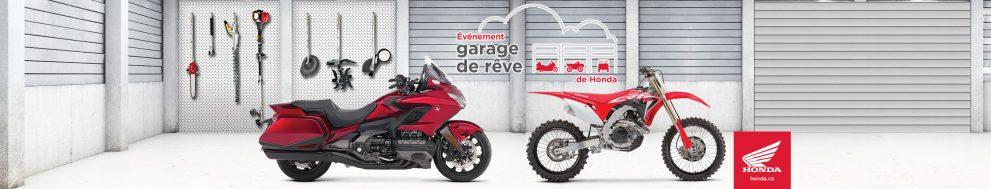 Garage de rêve Honda