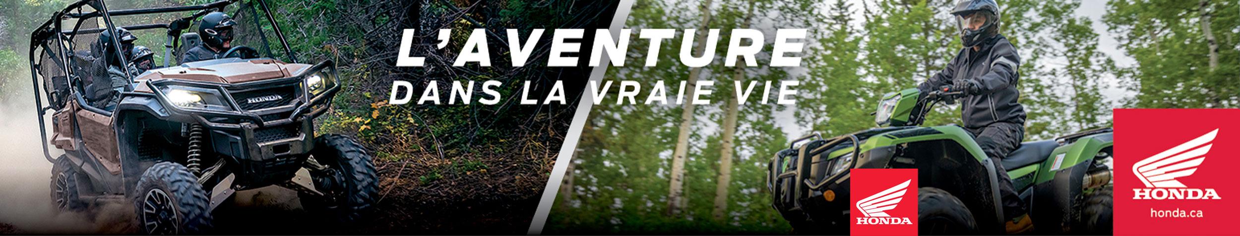 L'aventure VTT Honda