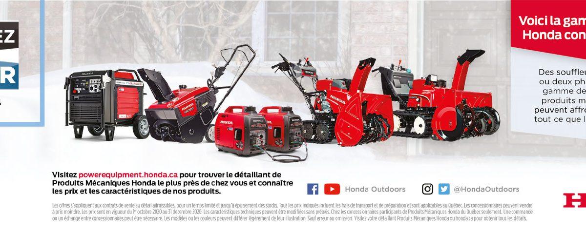 Honda hiver 2020
