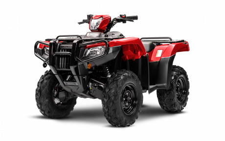 Honda Rubicon 520 DCT IRS EPS Rouge patriote 2021