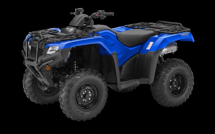 Honda Rancher TRX420 DCT IRS EPS Bleu réacteur 2021