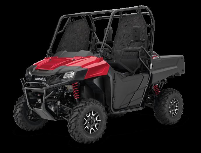 Honda Pioneer 700-2 Deluxe Pearl Reaper Red 2021