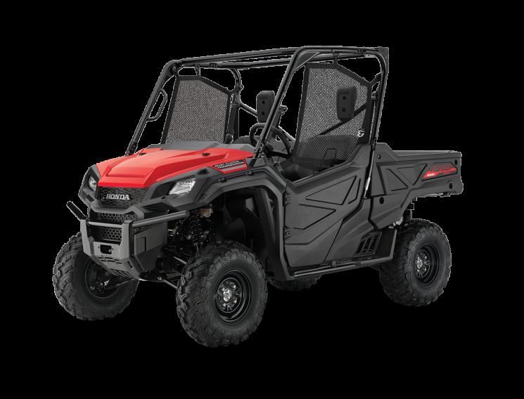 Honda Pioneer 1000 EPS Rouge patriote 2021