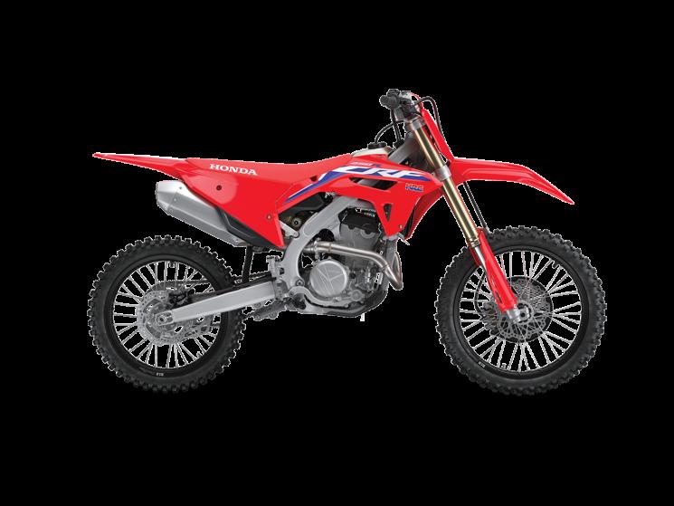 Honda CRF250R Rouge extrême 2022