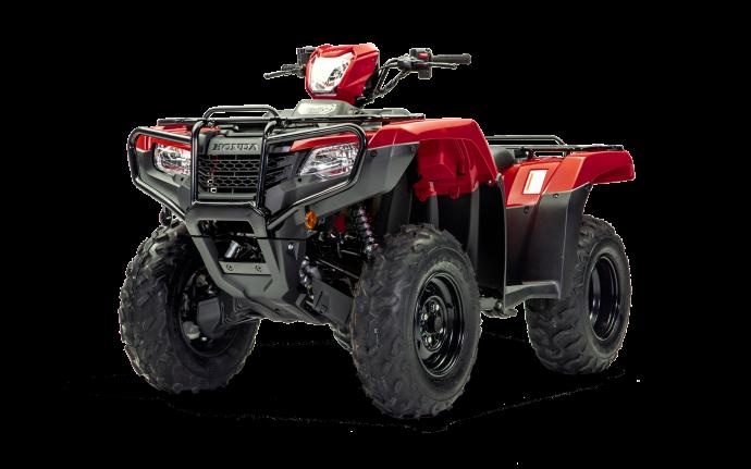 Honda Foreman 520 ES EPS Rouge patriote 2022