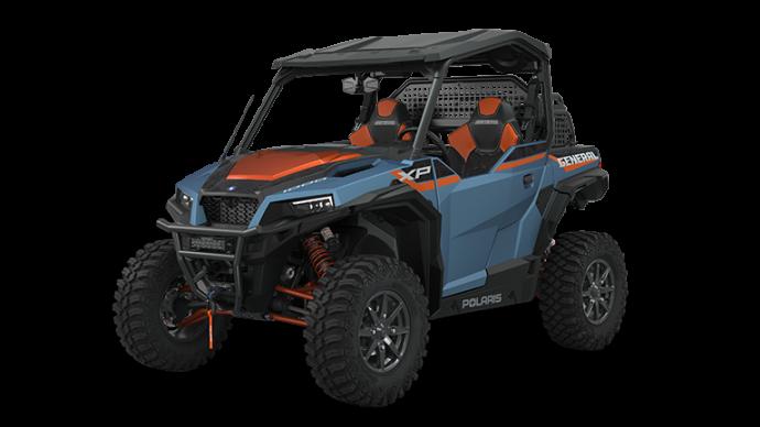 Polaris GENERAL XP 1000 Trailhead Edition Matte Blue Slate Metallic 2022