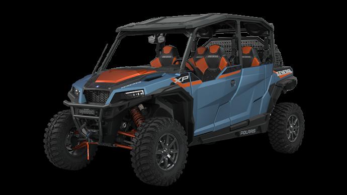 Polaris GENERAL XP 4 1000 Trailhead Edition Matte Blue Slate Metallic 2022